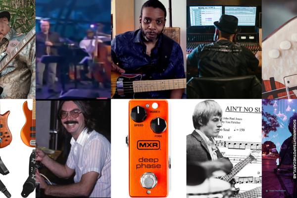 Weekly Top 10: Bakithi Kumalo Podcast, New Bass Lesson, Recording Bass, John Paul Jones Transcription, and More