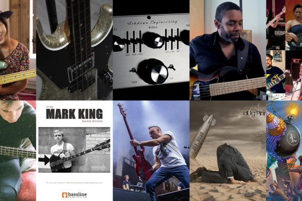 Weekly Top 10: Fills and Solos Bass Lesson, Mark King's Bass Book Gets Re-Release, New Music from Dug Pinnick and David Ellefson, Top 10 Bass Videos, and More